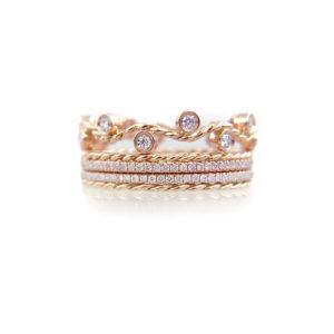 BM3-14-6-Wavy-Twist-ENLACE-CHIC-SHEEN-Gold-Crown-Ring-Stacking-Set-14k-18k_2083