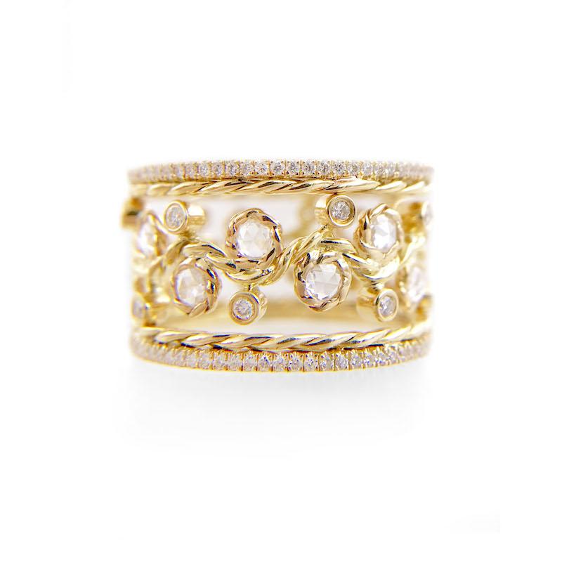 BM3-29-10-Wavy-Twist-Alternate-Rose-Cut-Diamond-Stacking-Eternity-Gold-Ring-14K-18K-JeweLyrie_3423