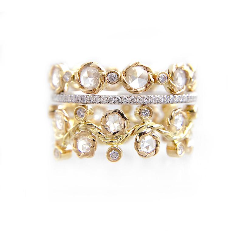 BM3-29-21-57-Wavy-Twist-Alternate-Rose-Cut-Diamond-Stacking-Eternity-Gold-Ring-14K-18K-JeweLyrie_3245