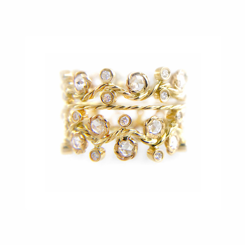 BM3-29-27-50-Wavy-Twist-Alternate-Rose-Cut-Diamond-Stacking-Eternity-Gold-Ring-14K-18K-JeweLyrie_3321