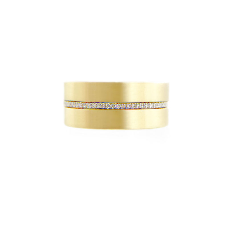 slim-pavé-diamond-satin-wedding-band-stacking-set-14k-18k-jewelyrie