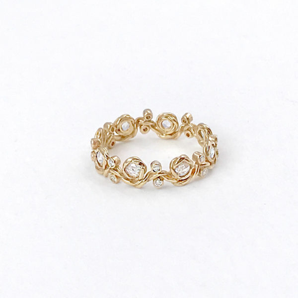 twist-vine-rose-cut-diamond-eternity-stackable-gold-crown-ring-5mm-18k-jewelyrie
