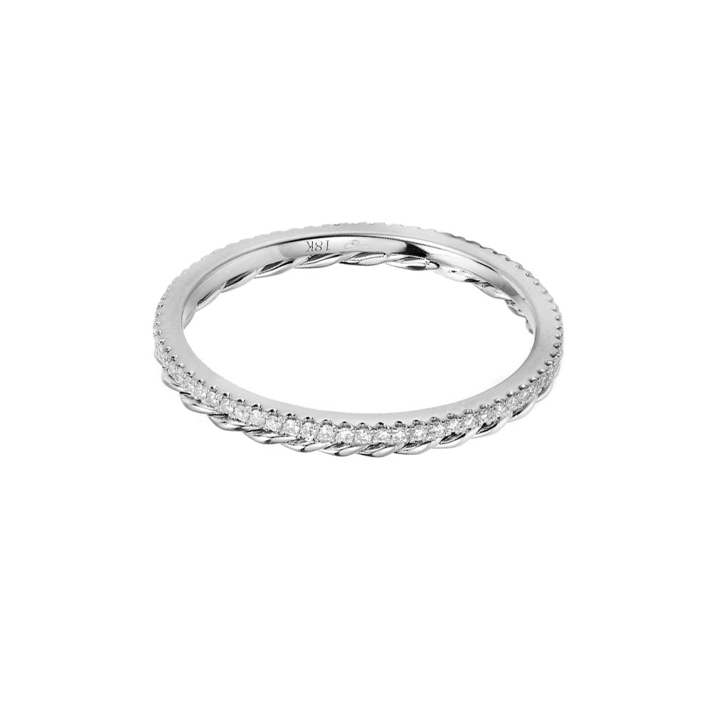 JeweLyrie-Signature-Twist-Trimmed-Micro-Pavé-Diamond-Eternity-Band-Ring-Guard-Spacer-WG