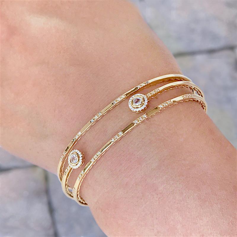 Rose-Cut-Diamond-Twist-Lined-open-Cuff-14k-18k-fine-jewelry-JeweLyrie_4560
