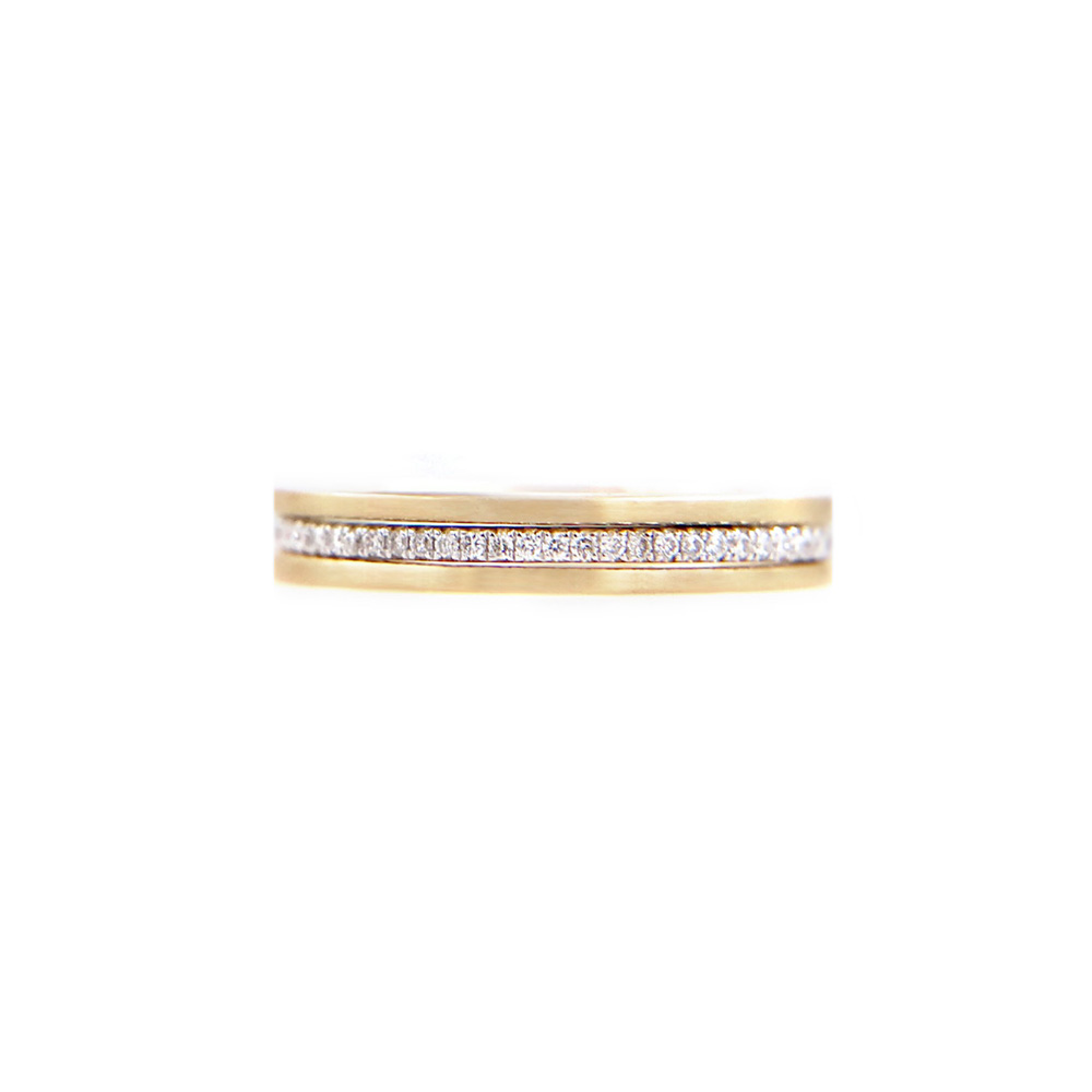 SLIM SHEEN-42.57.42-Slim-Pave-Diamond-Double-Satin-Stripe-Band-Three-Ring-Stacking-14k-18k-jeweLyrie_9206