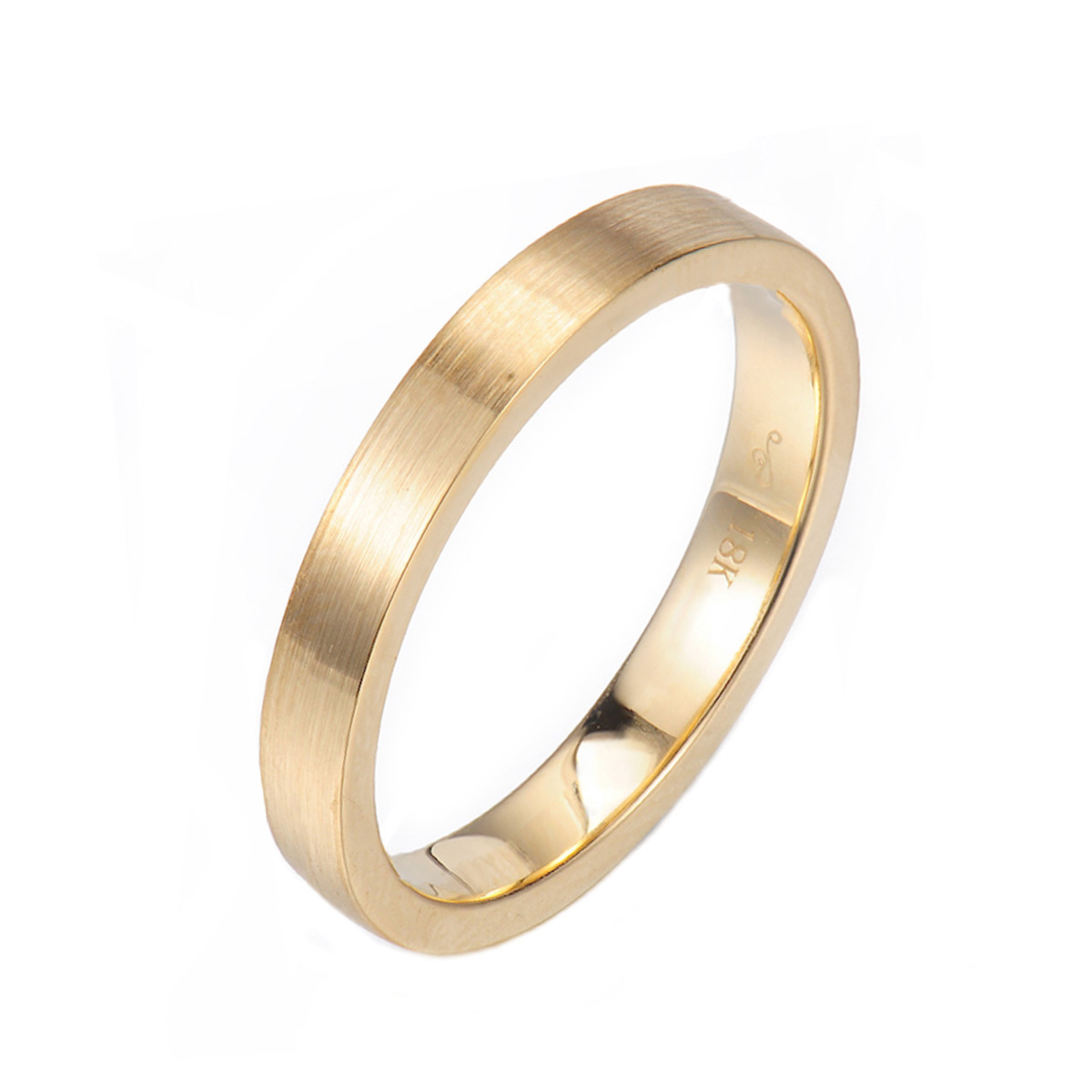 Z-Chic-square-3mm-Satin-Gold-Band-Ring-Guard-Spacer-14k-18k-JeweLyrie