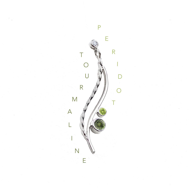 GreenTourmaline-Peridot