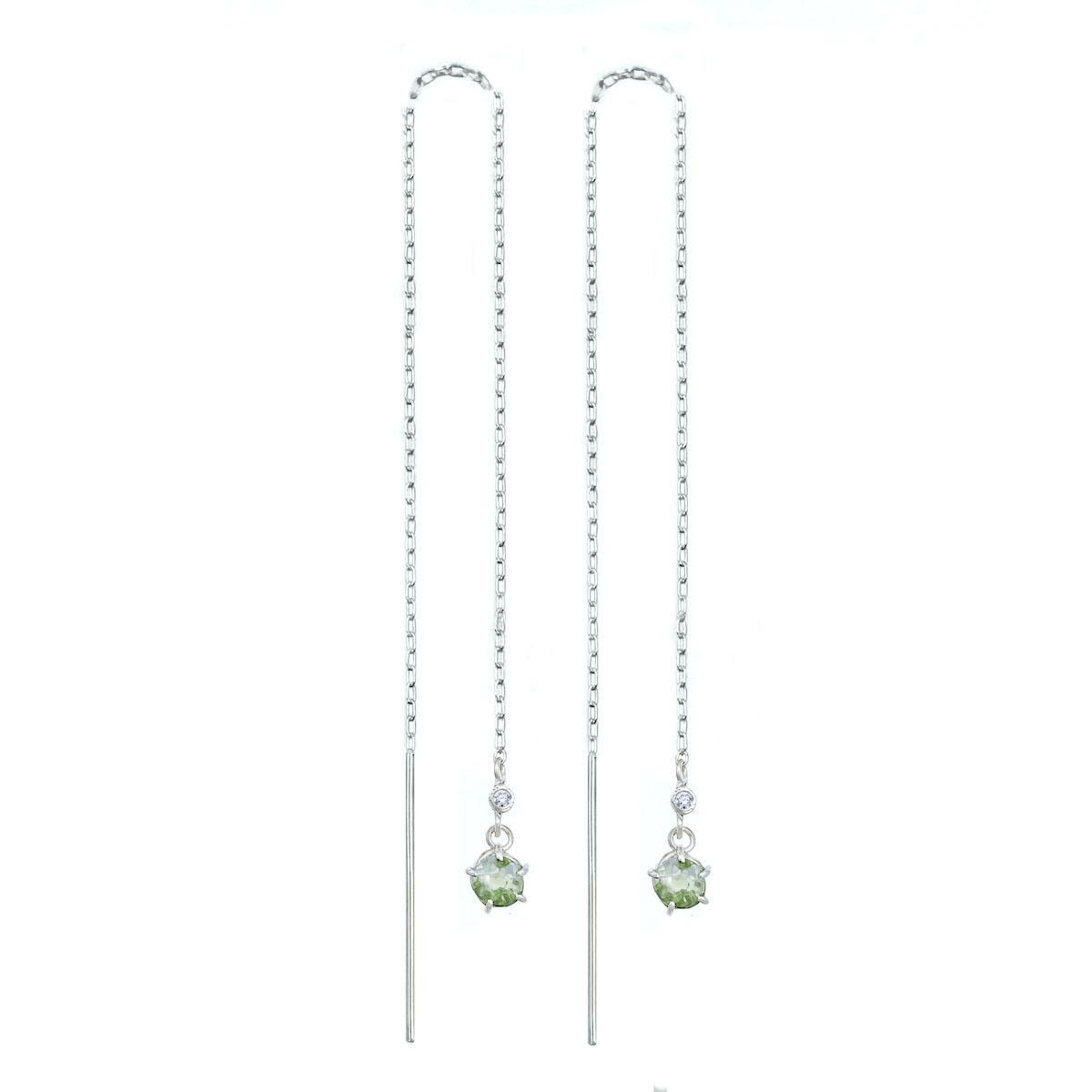 Green-Sapphire-Drop-Threader-White-Gold