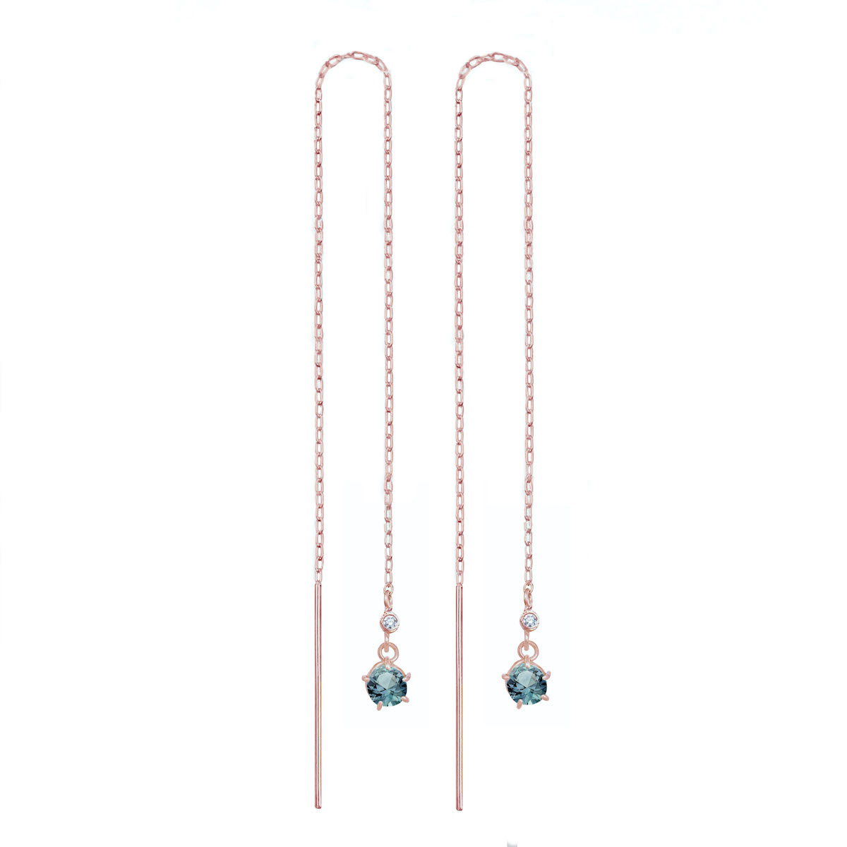Teal-Sapphire-Drop-Threader-Rose-Gold-32-3 RG copy
