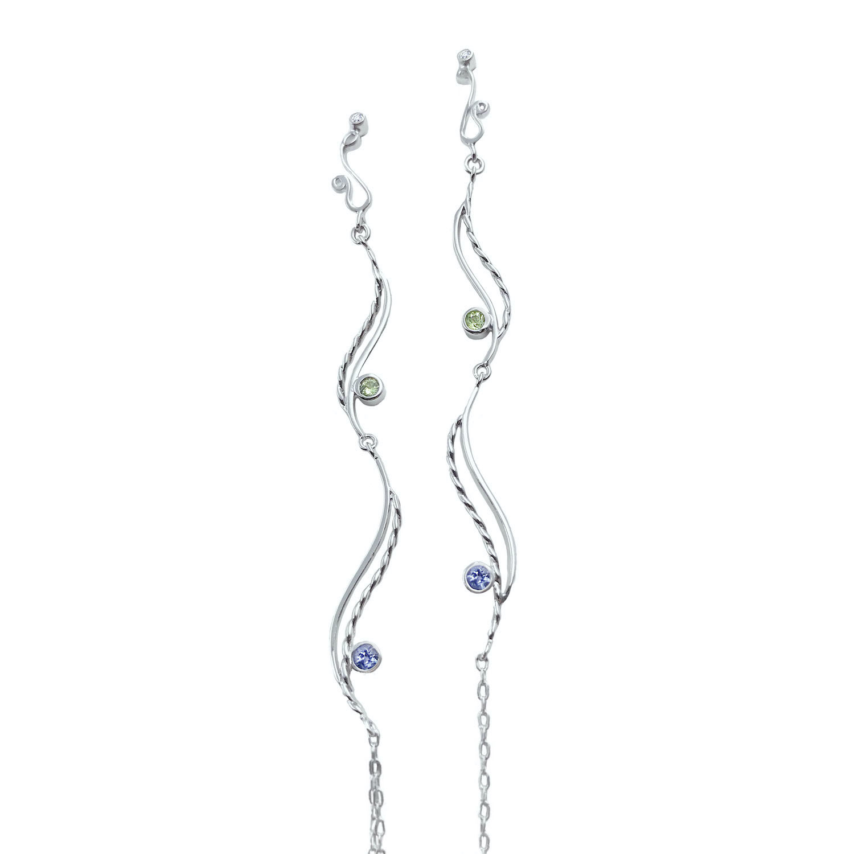 mix-gemstone-diamond-accents-double wave-tassel-duster-earrings-14k-jewelyrie-28
