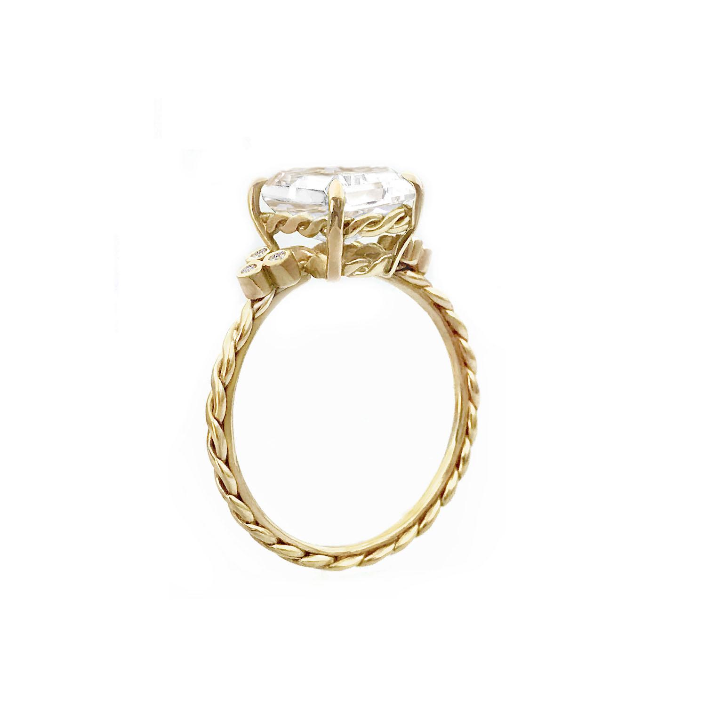 Emerald-Cut-Clear-Quartz-solitaire-diamond-trio-sidestone