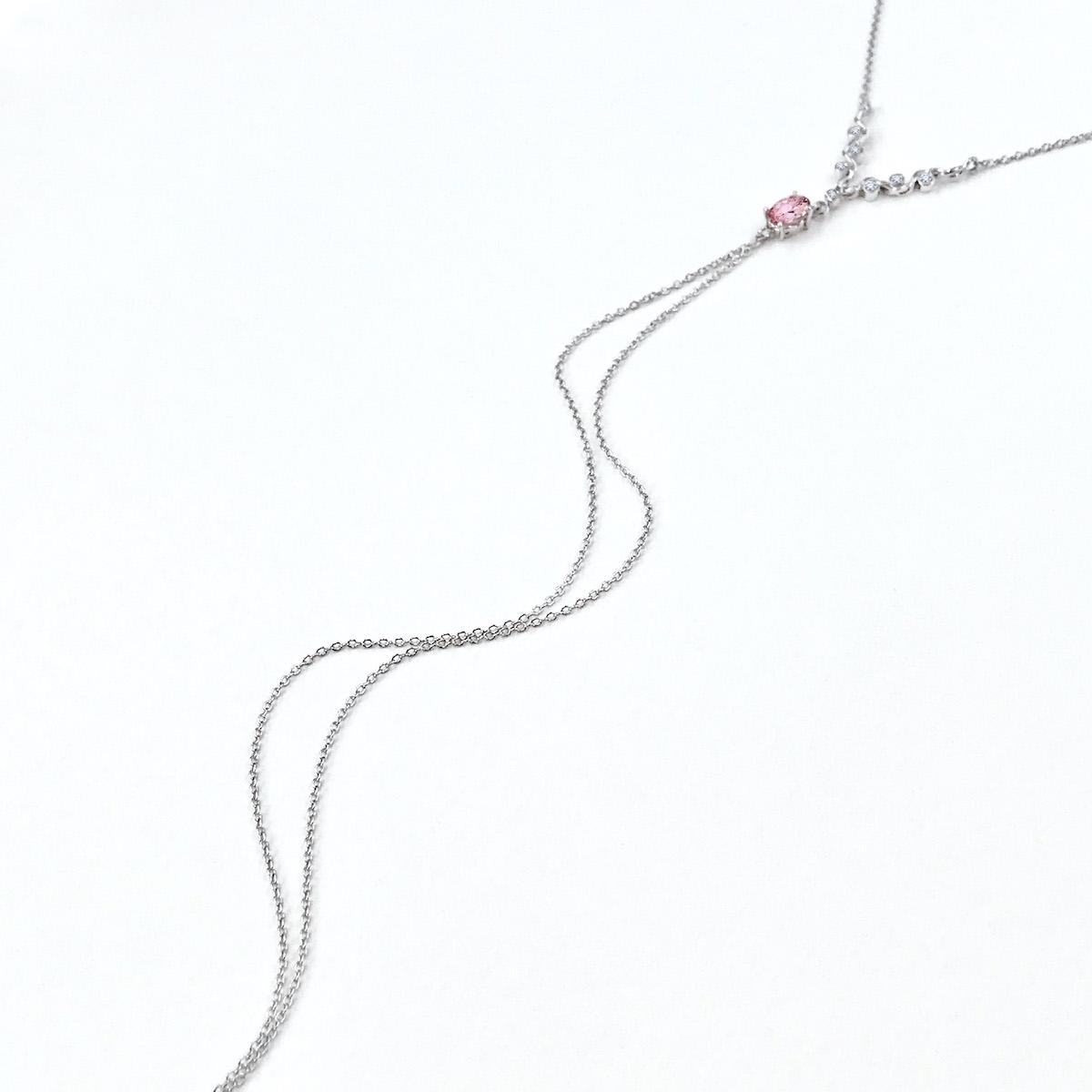 Pink-Tourmaline-Diamond-Twit-Tassel-Y-Necklace_5936