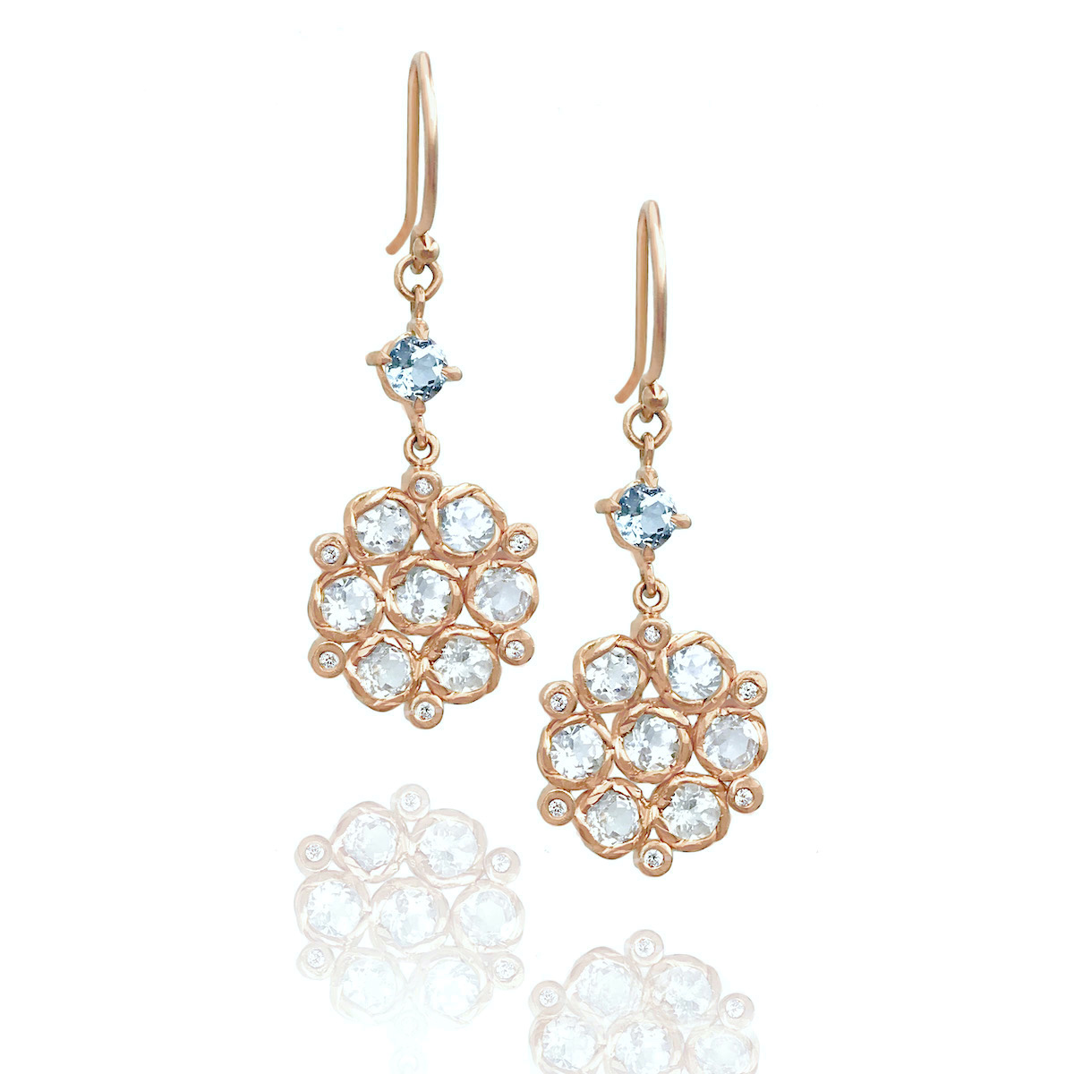aquamarine-accent-white-zircon-floral-drop-earrings-jewelyrie-RGR