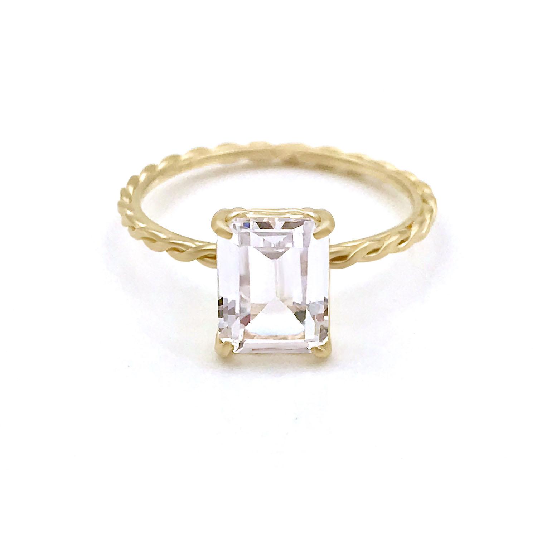 emerald-cut-white-topaz-twist-ring-14k-18k-jewelyrie
