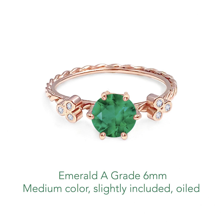 Emerald A 6mm