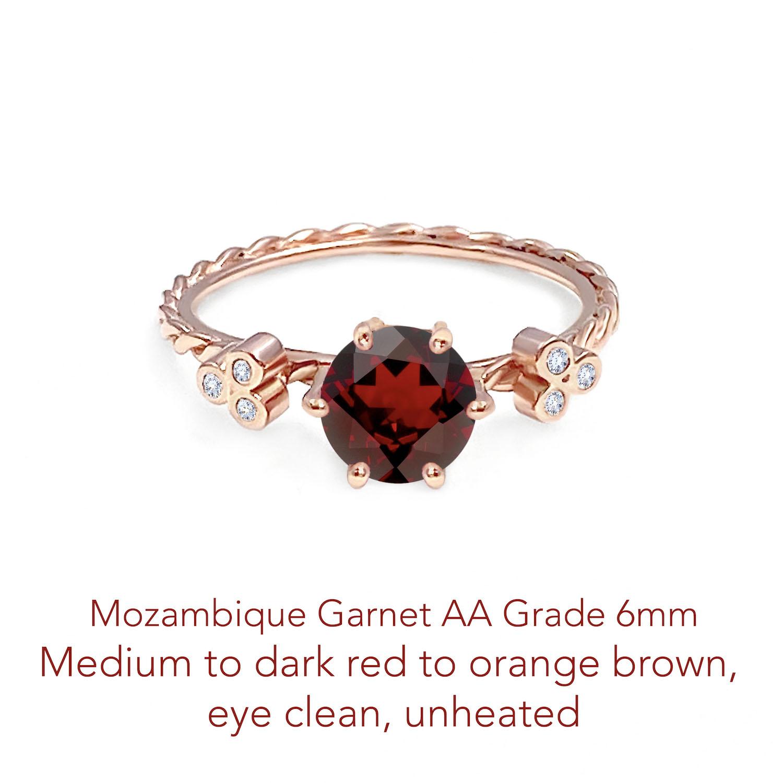 Garnet Mozambique AA