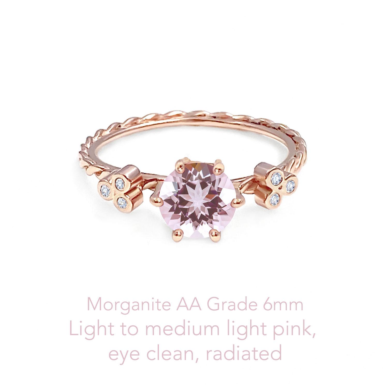 Morganite AA