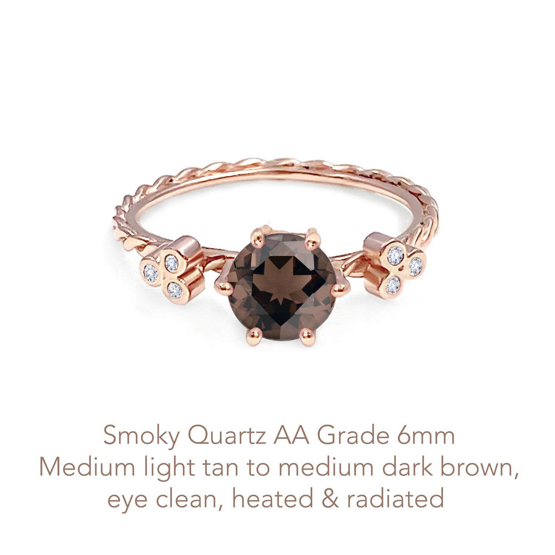 Quartz Smoky AA