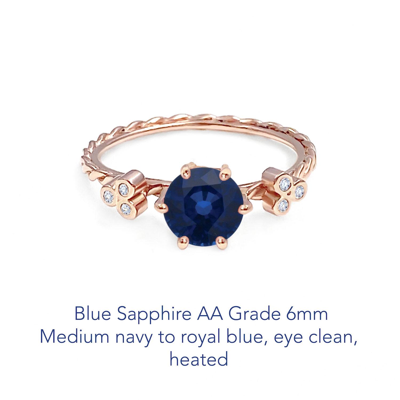 Sapphire Blue AA