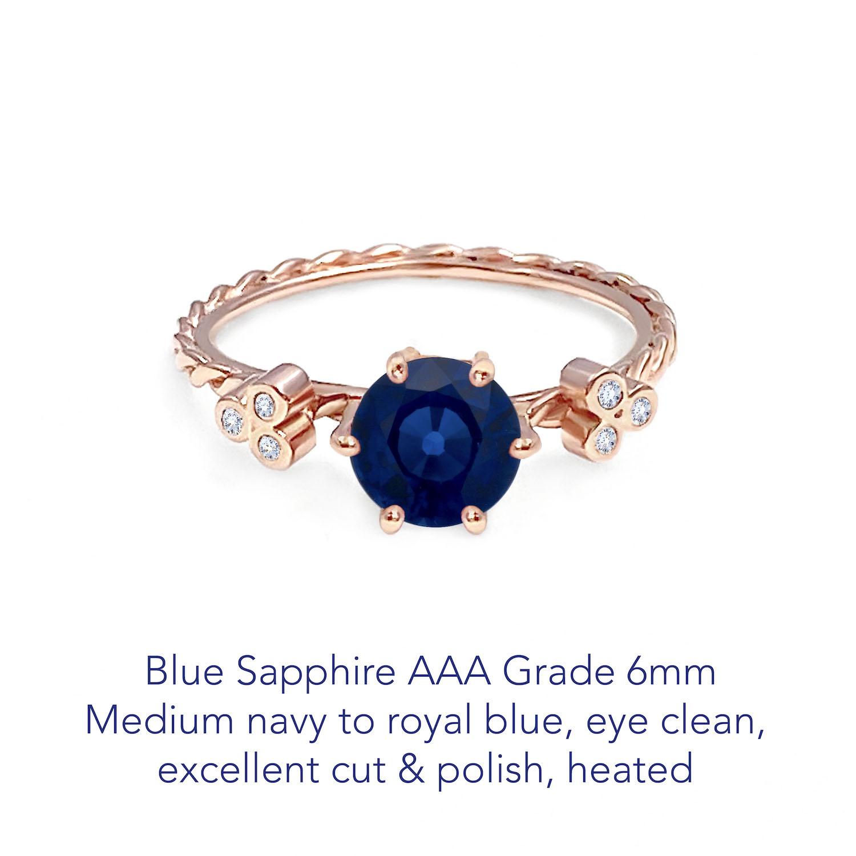 Sapphire Blue AAA