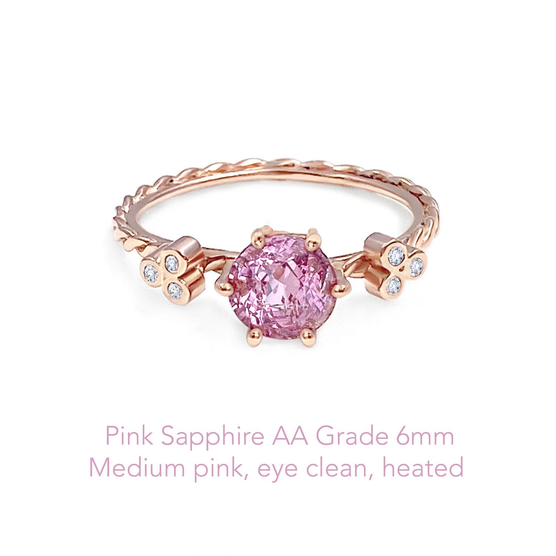 Sapphire Pink AA