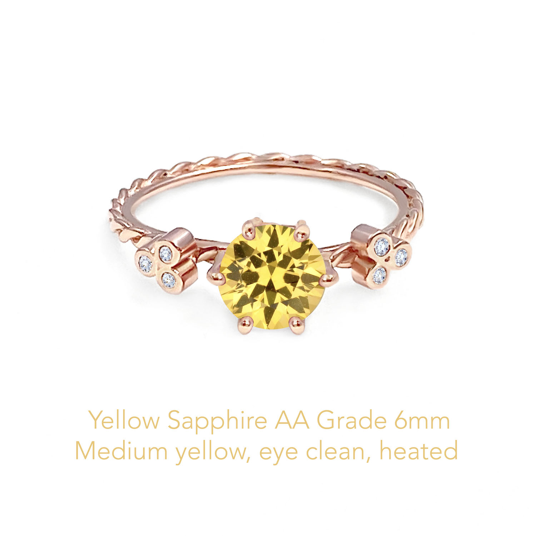 Sapphire Yellow AA