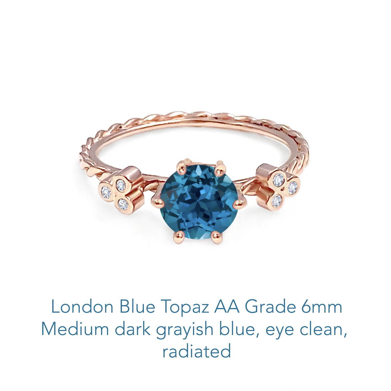 Topaz London Blue AA