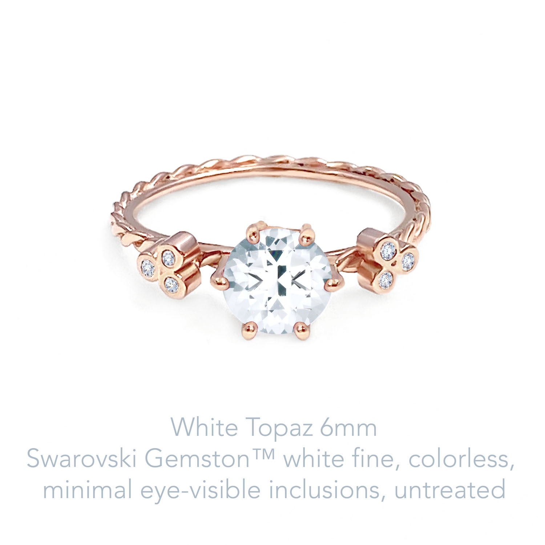 Topaz White Fine