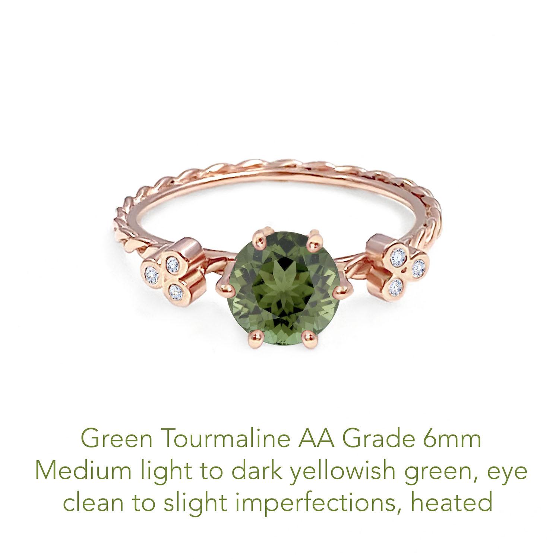 Tourmaline Green AA