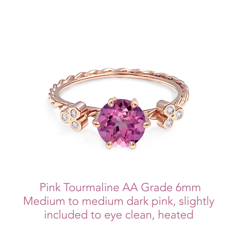 Tourmaline Pink AA