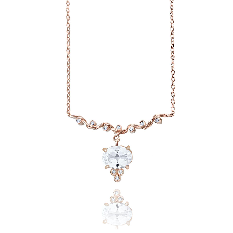 White-topaz-drop-twist-wave-station-necklace-14k-18k-jewelyrie