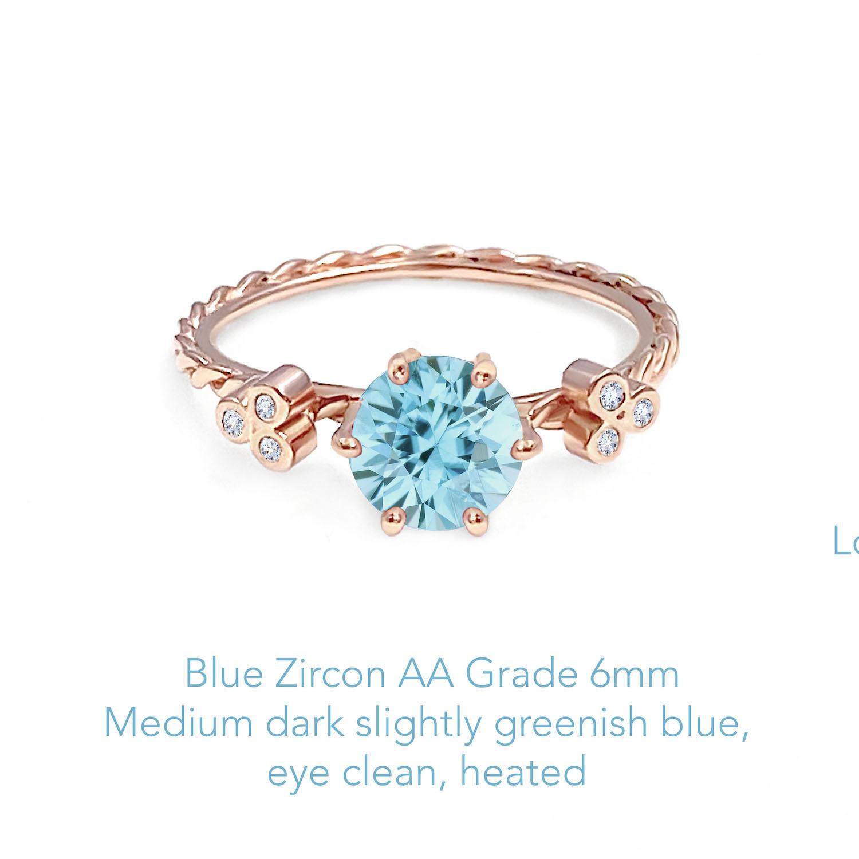 Zircon Blue AA