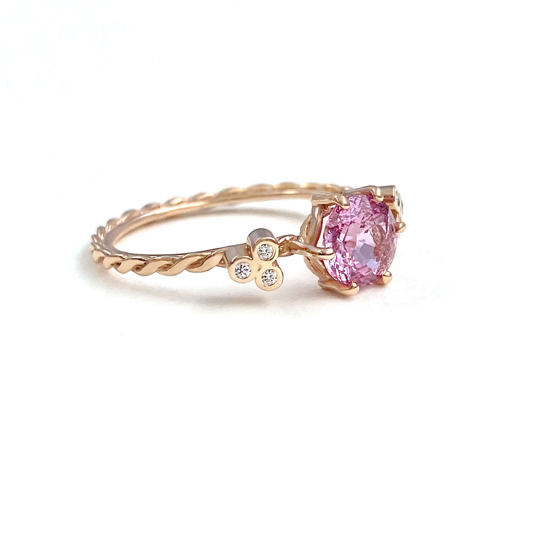 round-gemstone-pink-sapphire-diamond-twist-ring-S-14k-jewelyrie