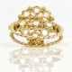 18k-gold-rose-cut-diamond-cluster-statement-ring-in-Jewelyrie-signature-twist-petal-setting-ALGR-03