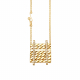 Double-Pave-Diamond-Line-18k-Twist-Textured-Slider-Tab-Pendant