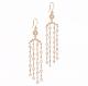 JeweLyrie-Athena-Rose-Cut-Diamond-Chandelier-Earrings-18k-14k