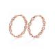82-Signature-Twist-Bezel-Rose-Cut-Diamond-Eternity-Gold-Hoop-Earrings