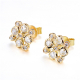 72-Signature-Twist-Bezel-Rose-Cut-Diamond-Checker-Stud-Gold-Earrings_ALGSD-09