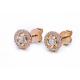 70-Signature-Twist-Bezel-Rose-Cut-Diamond-Halo-Stud-Gold-Earrings