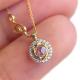 63-Signature-Twist-Bezel-Rose-Cut-Diamond-Drop-Gold-Pendant-Necklace_5497