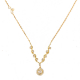 68-Rose-Cut-Diamond-Drop-Signature-Handcrafted-Wavy-Twist-triangle-Pendant-Necklace-14k-18k-Gold-JeweLyrie_ALGP-05