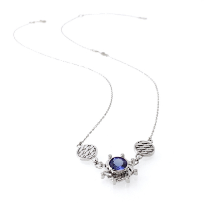 Opulent Orbit  Pendant Necklace