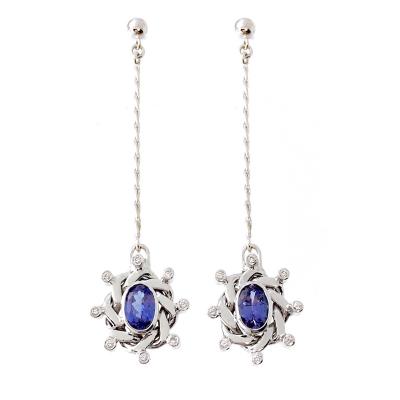 Ellipse Pendulum Earrings