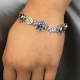 18k-white-gold-diamond-tanzanite-disc-link-bracelet