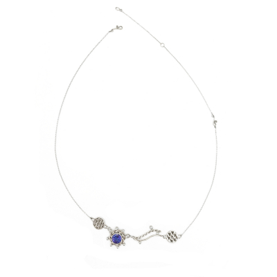 Lunar Dance Pendant Necklace OOAK