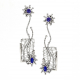 Framed 18k-White-Gold-Diamond-Tanzanite-Open-Textured-Ear-Jackets-Jewelyrie