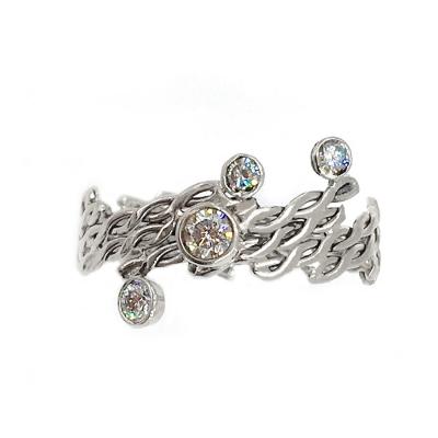 Andromeda Galaxy Diamond Ring