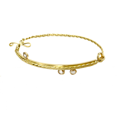 DUET Half Bangle
