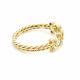 18k-Gold-Rose-Cut-Diamond-Three-Stone-Ring-Pirouette-Twist-Wrapped-Scallop-Bezel