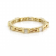 18k-Gold-Double Baguette-Diamond-Wedding -Band-Stacking-Ring-CBLR-06A